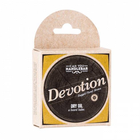 BEARD DRY OIL 2OZ - DEVOTION - PATCHOULI AND FLORAL SCENTED