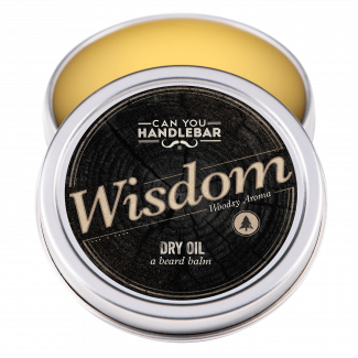 BEARD DRY OIL 2OZ - WISDOM - WOODSY SCENTED