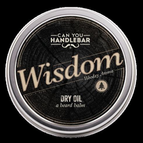 BEARD DRY OIL 2OZ - WISDOM - WOODSY SCENTED