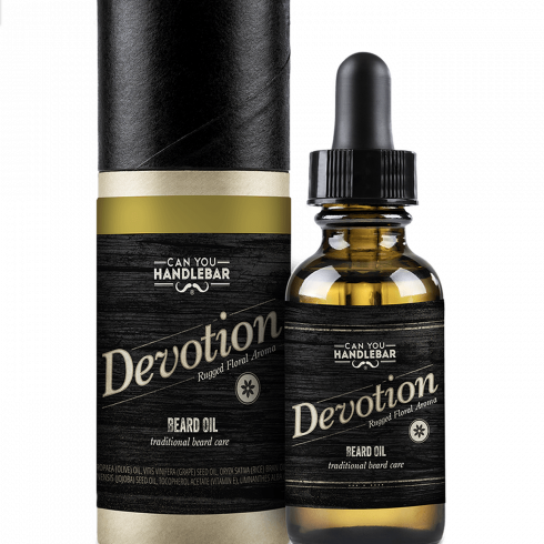 BEARD OIL 30ML - DEVOTION - PATCHOULI AND FLORAL SCENTED