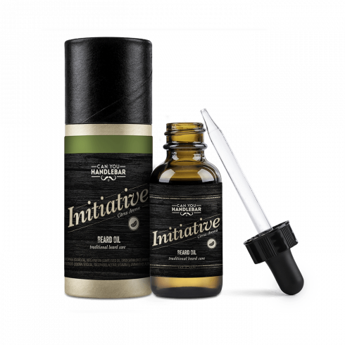 BEARD OIL 30ML - INITIATIVE - CITRUSY SCENTED