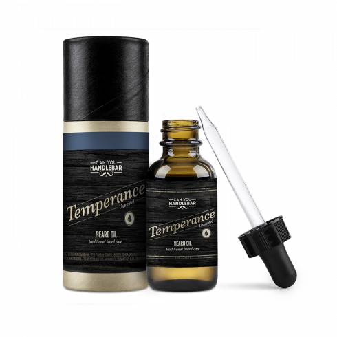 BEARD OIL 30ML - TEMPERANCE - UNSECENTED