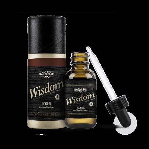 BEARD OIL 30ML - WISDOM - WOODSY SCENTED