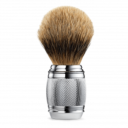 FUSION CHROME COLLECTION FINE SHAVING BRUSH