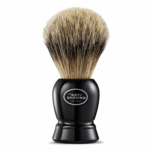 SH BRUSH FINE BADGER BLACK #3