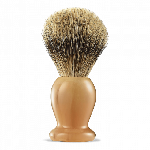 SH BRUSH FINE BADGER HORN #3