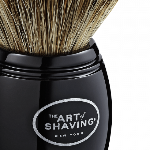 SH BRUSH PURE BADGER BLACK