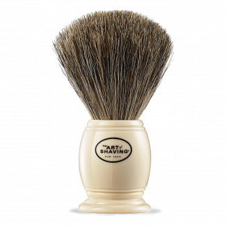 SH BRUSH PURE BADGER IVORY