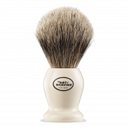 IVORY SILVERTIP SHAVING BRUSH