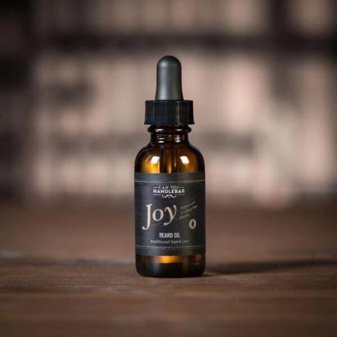 Joy-Peppermint-And-Clary-Sage-Beard-Oil-Bottle